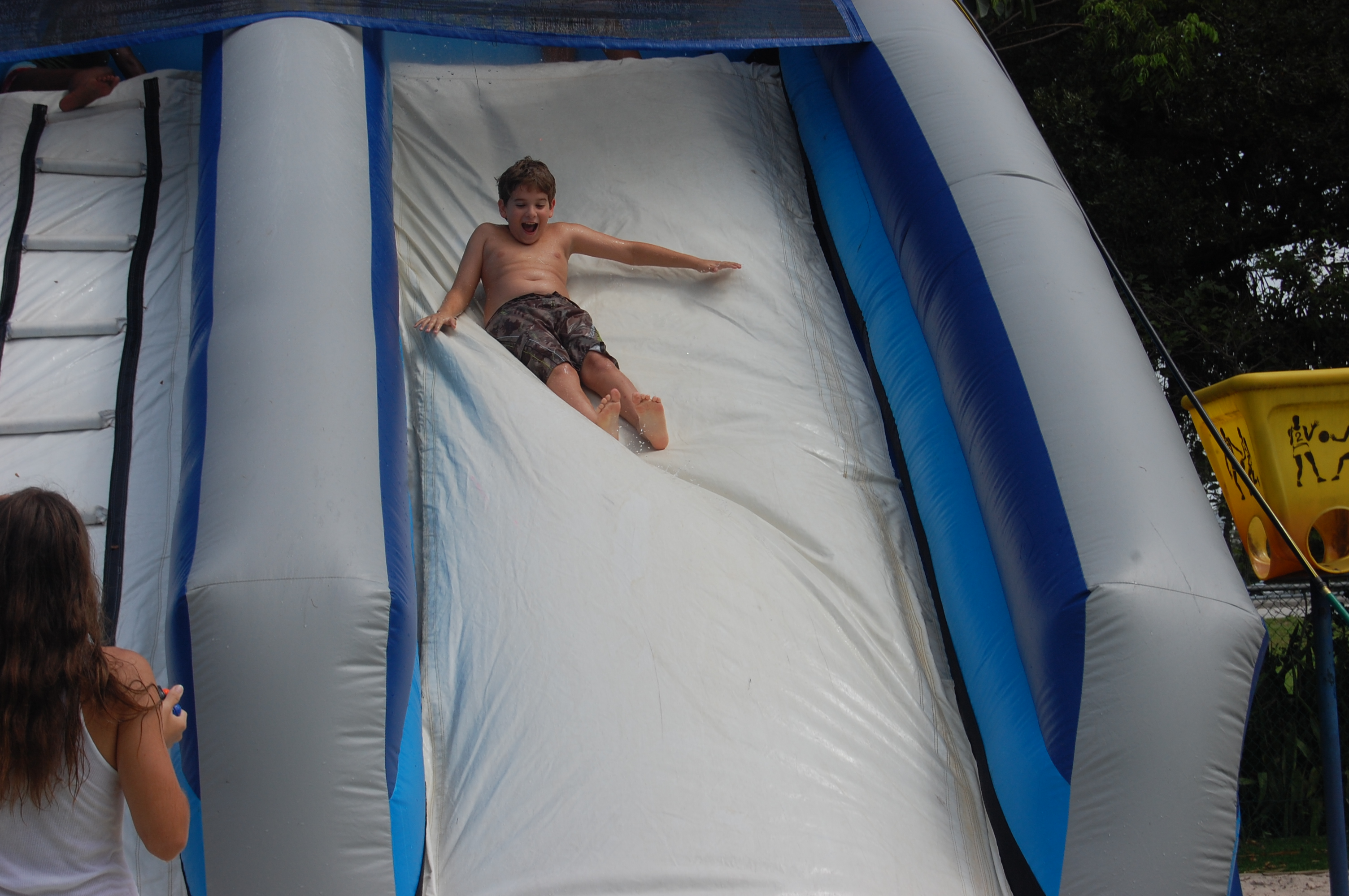 Day Camp Waterslide